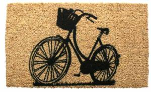 Bike Cocoa Door Mats