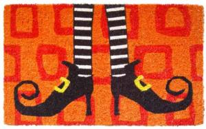 Wicked Witch Shoes Cocoa Door Mats
