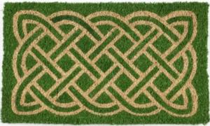 Celtic Handwoven Coconut Fiber Doormat