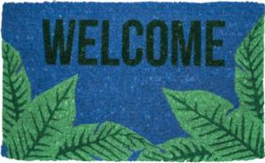 Palms Welcome Handwoven Coconut Fiber Door Mats
