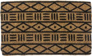 Mud Cloth Handwoven Coconut Fiber Door Mats