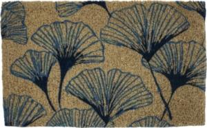 Grand Gingko Handwoven Coconut Fiber Doormat