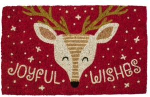 Joyful Wishes Handwoven Coconut Door Mats