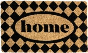 Checked Home Handwoven Doormat