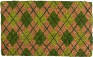 Argyle Handwoven Doormat