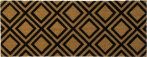 Diamonds 18x47 Coir Doormat