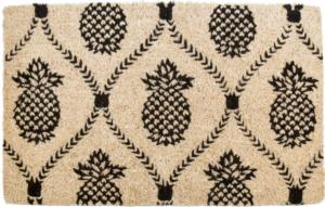 Pineapple Handwoven Coconut Fiber Doormat