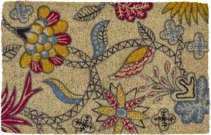 WILLIAMSBURG Brie Handwoven Coconut Fiber Doormat