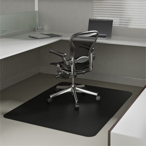 Black Chair Mats Are Office Desk