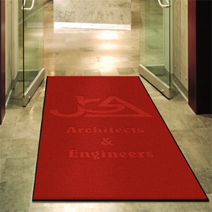 Branded Deluxe Carpet Logo Mats