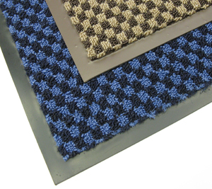 Checkered Pattern Entrance Mats