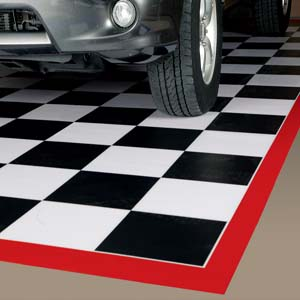 Roll Out Garage Flooring Is Garage Floor Covering By American Floor Mats