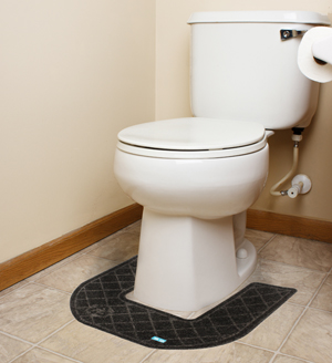 CleanShield Commode Mats - Disposable