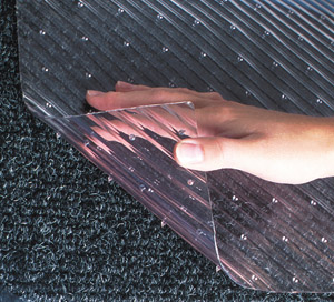 Clear Vinyl Runner Mats for Carpeted Floors