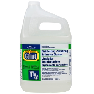 Comet® Disinfecting-Sanitizing Bathroom Cleaner, One Gallon Bottle, 3/Case