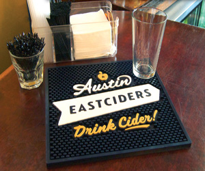 Custom Logo Bar Mats