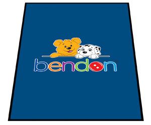 Designer Carpet Personalized Logo Mats