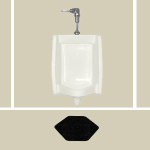 DiamondStep Disposable Urinal Mats