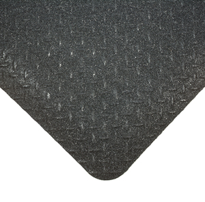 Diamond Plate with Gritworks Anti-Fatigue Mats