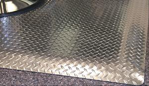 Diamond DeckPlate Salon Mats