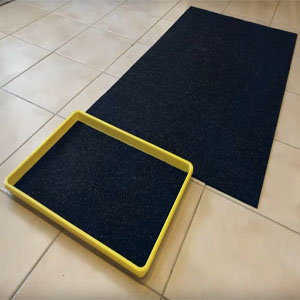 Disinfecting Foot Tray