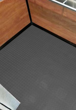 Vinyl Elevator Floor Matting