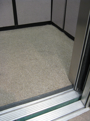 Elevator Floor Matting - Carpet