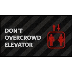 Elevator Social Distancing Floor Mats