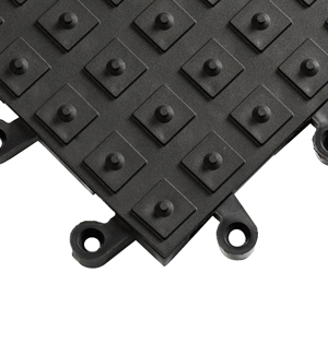 ErgoDeck Solid Anti-Fatigue Mats with No-Slip Cleats