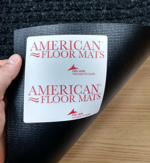 Floor Mat Anchor Tabs