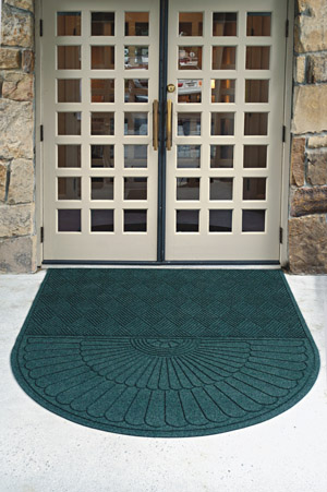One-End Grand Premier Waterhog Entrance Mats