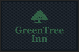 GreenTree Inn Rubber Logo Mats