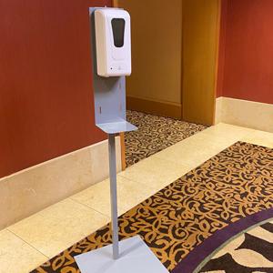 Hand Sanitizer Dispenser & Stand