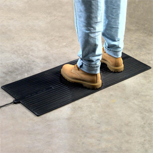 Heated Floor Mats - Heavy-Duty Boot Warmers