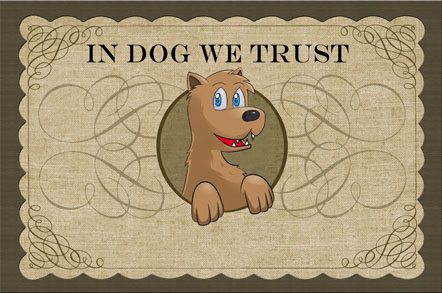 In Dog We Trust Mats - Traditional