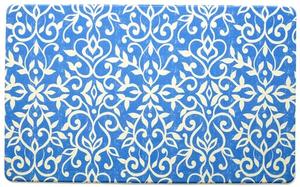 Kitchen Anti-Fatigue Mats: Isabella Blue Mat