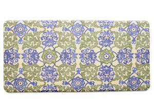 Kitchen Anti-Fatigue Mats: Cecelia Flowers