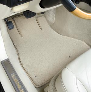 Luxe Car Floor Mats Plush Carpet