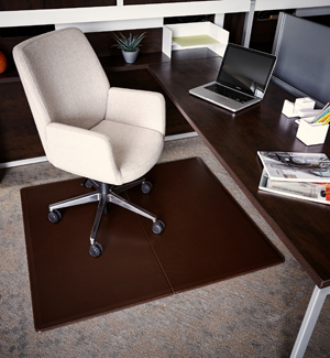 Leather Chair Mats