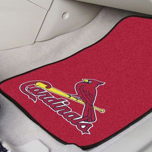 MLB Carpet Car Mats - Front Seats