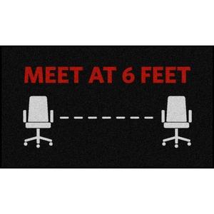 Office Social Distancing Floor Mats