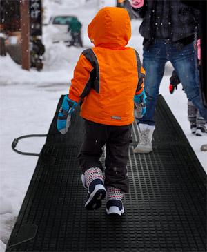 Melt Step Snow Melting Mats