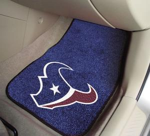NFL Carpet Car Mats - Front Seats