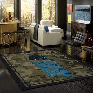 NFL Camo Sports Team Rugs