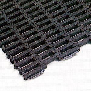 Recycled Rubber Tire Link Mats Are