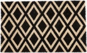 Rhombi Non Slip Coir Doormat