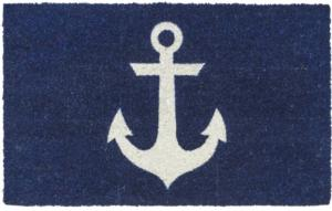 Blue Anchor Non Slip Coir Door Mats