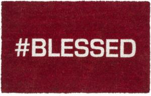 Blessed Non Slip Coir Door Mats