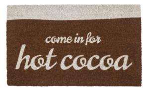 Hot Cocoa Non Slip Coir Door Mats
