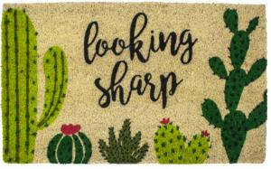 Looking Sharp Slip Resistant Coir Door Mats